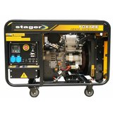 Stager YDE12E, 9kVA, monofazat, cupla ATS, Generator Diesel